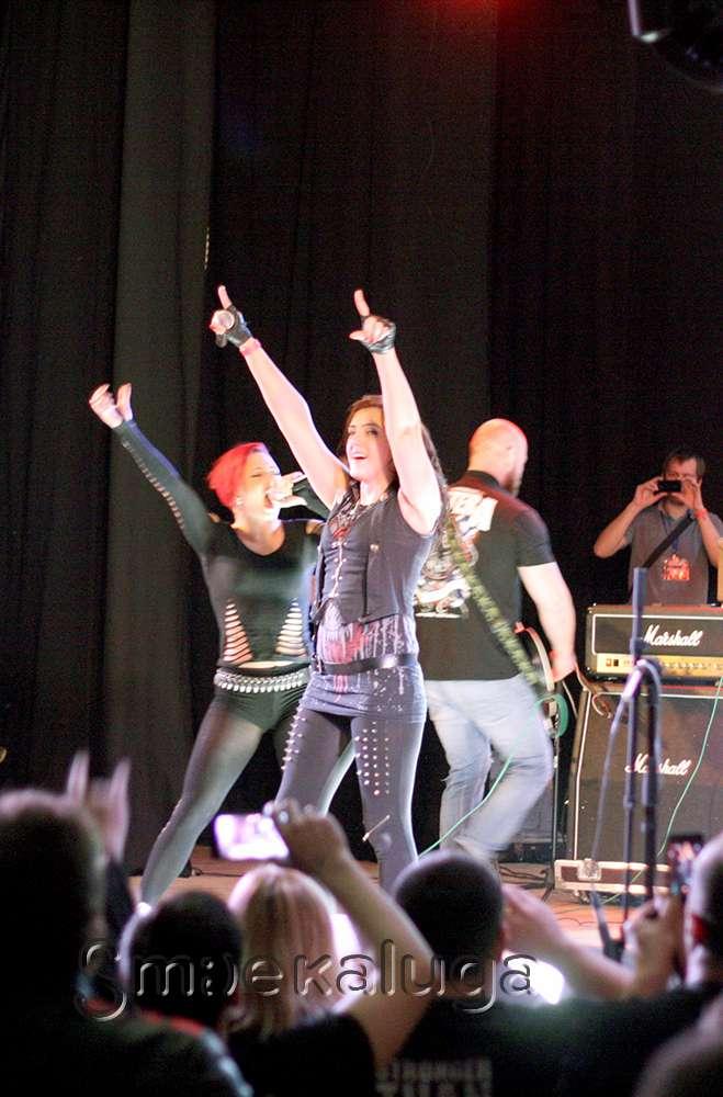 Группа Cadaveria впервые выступила в России в рамках фестиваля «Железные девы» — 2015