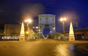 Проект голографических московских ворот (источник www.kaluga-poisk.ru) калуга