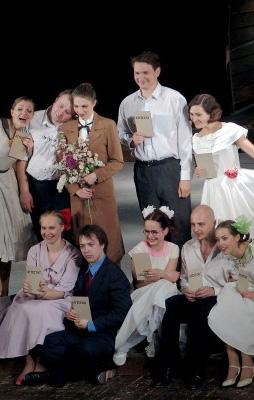 Музыкальное ревю по мотивам фильма Э.Сколлы «Бал» «Если любишь — найди» в Калужском областной драматическом театре