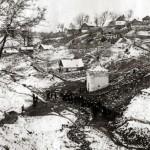 11 ноября 1941 года — немецкие солдаты у колодца «Здоровец» во время оккупации Калуги калуга