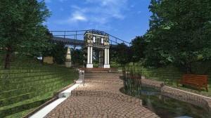 Проект Московских ворот в Березуевском овраге калуга