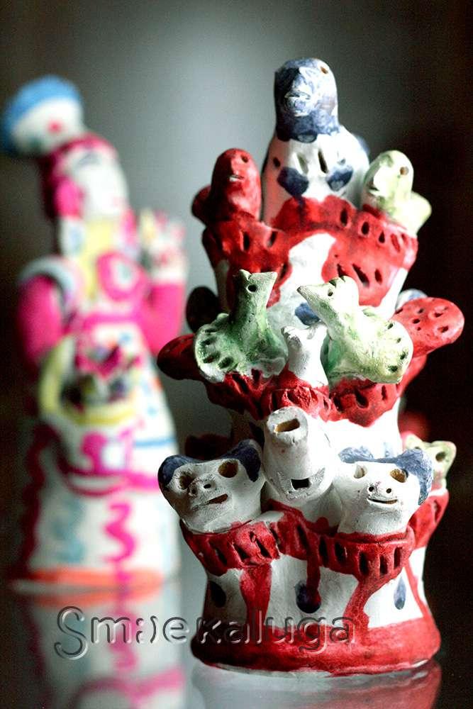 В выставочном центре Калужского музея изобразительных искусств проходит выставка хлудневской игрушки