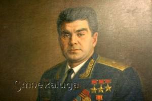 Часть портрета Г. Т. Берегового калуга