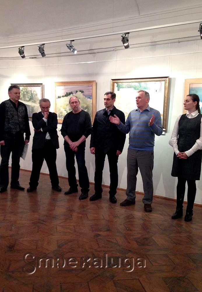 В Калужском музее изобразительных искусств прошло открытие выставки Константина Петрова
