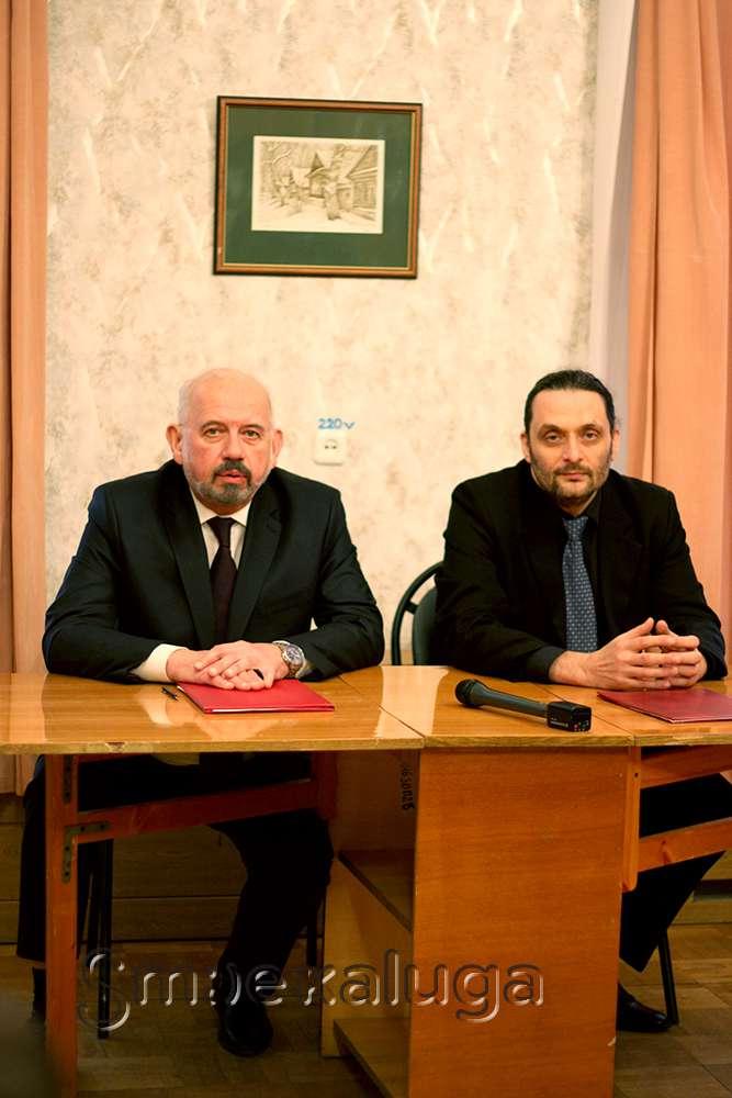 КОМК им. С. И. Танеева и Калужская областная филармония подписали соглашение о сотрудничестве