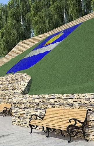 Лестница склона Центрального парка будет вести к площади Старый Торг