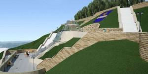 Проект склона парк калуга