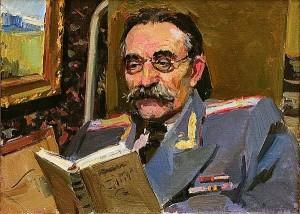 """И. Пушкарёв. """"Портрет врача"""" калуга"""