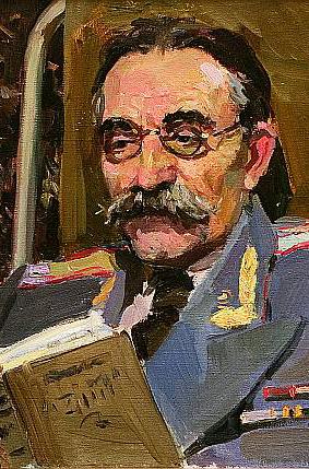 В Калужском музее изобразительных искусств проходит выставка одной картины И. З. Пушкарёва «Портрет врача»
