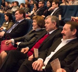 Среди зрителей присутствовал и губернатор Калужской области калуга