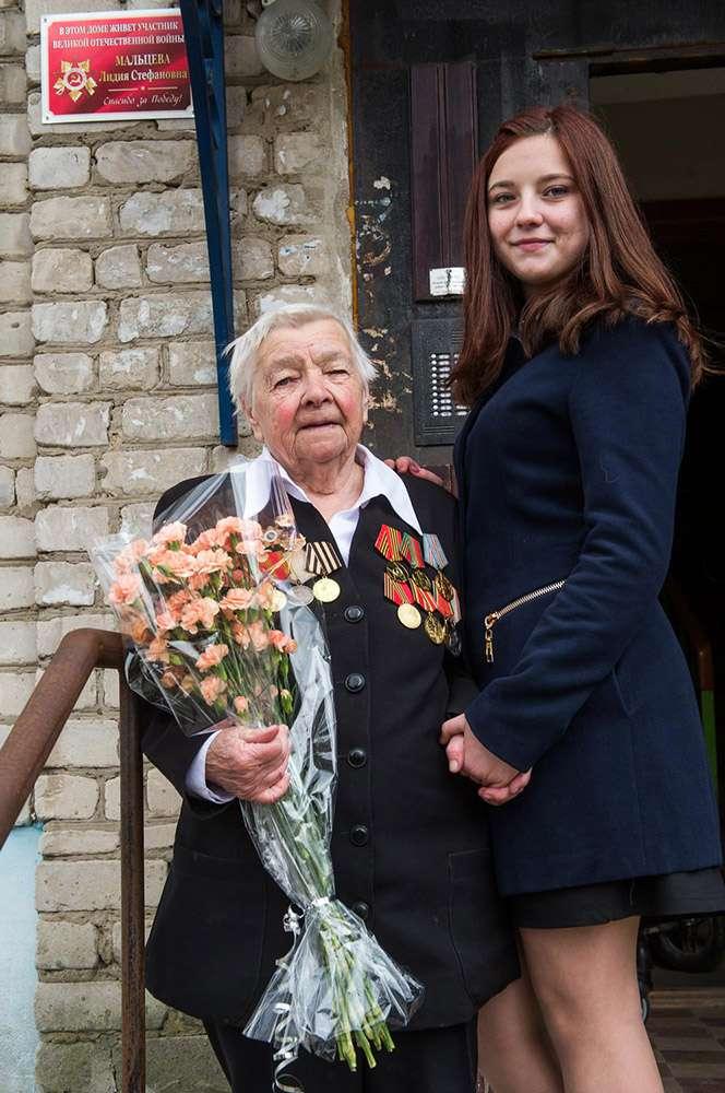В Кирове проходит акция к 70-летию Великой Победы «Здесь живёт ветеран»