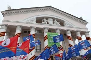 На Театральной площади калуга