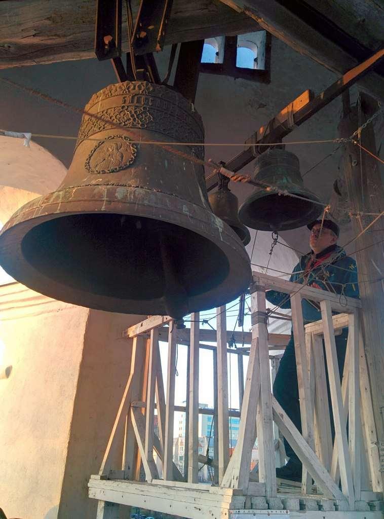 В Калуге планируют выпустить диск с записью звонов лучших калужских звонарей на лучших колокольнях области