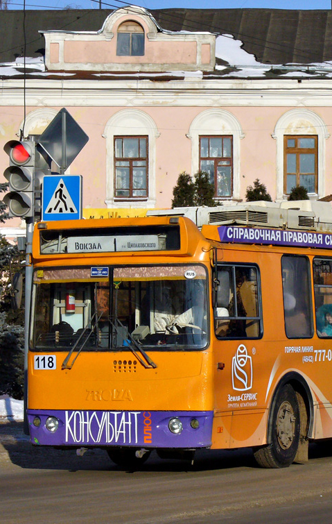 Литературный троллейбус пройдёт 6 мая по маршруту №1