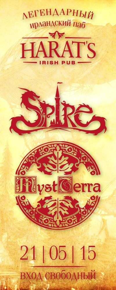 SPIRE | MYSTERRA в Harat's Pub