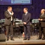 На сцену поприветствовать зрителей и музыкантов поднялся заместитель губернатора области Николай Любимов калуга