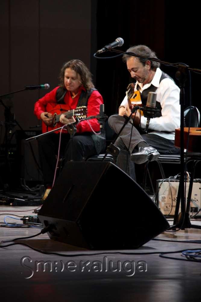 В третий день фестиваля «Мир гитары» зрителям представили World Of Guitar Trio
