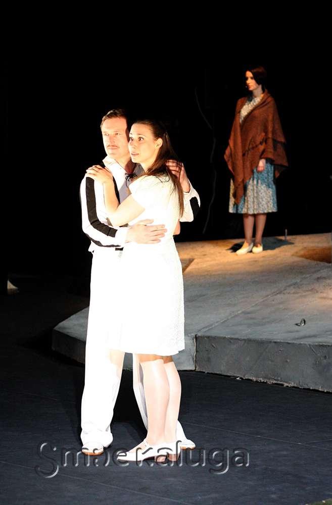 Калужский областной драматический театр представил постановку, посвящённую 70-летию Великой Победы