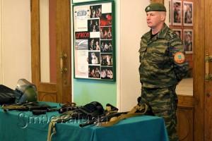 Мини-выставка оружия калуга