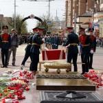 Церемония перезахоронениякалуга