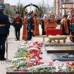 Митрополит Калужский и Боровский Климент провёл перед захоронением заупокойное Богослужение по воинам калуга
