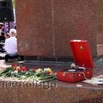 У памятника Кирову в калуге