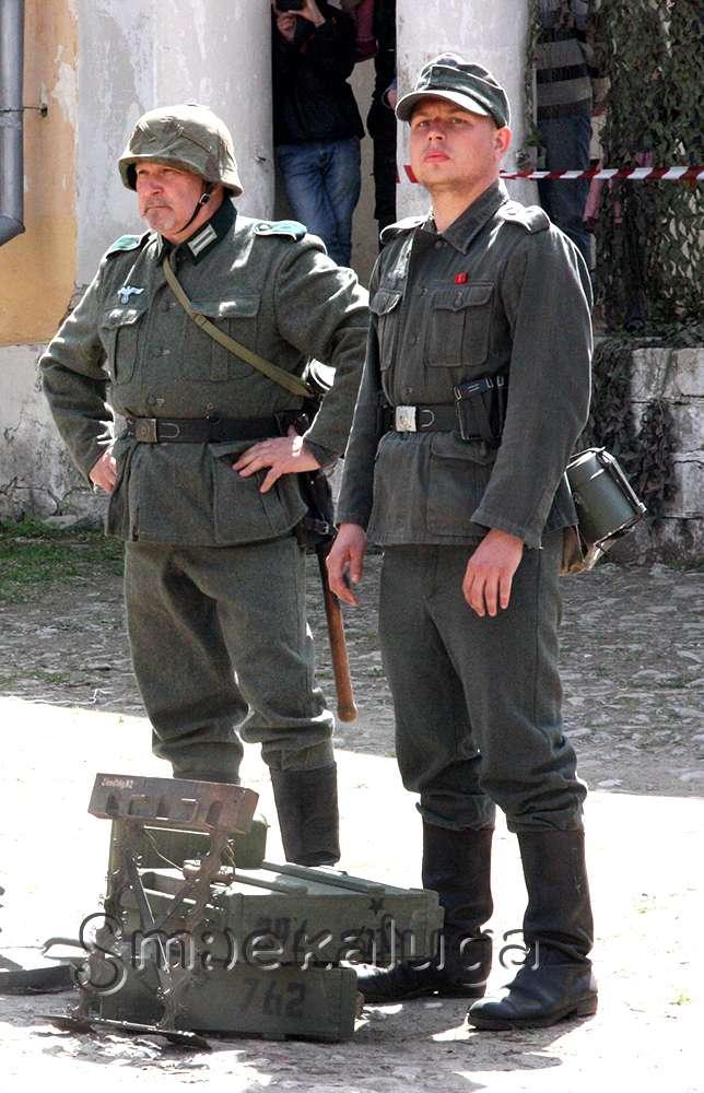 Во дворике Краеведческого музея прошёл «Последний бой 1945-го»