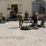Военно-историческая реконструкция «Последний бой 1945-го» в музее калуги