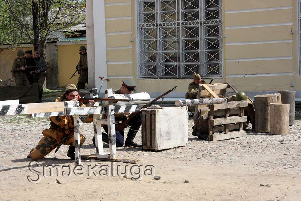 Во дворике усадьбы Золотарёвых 9 мая пройдёт праздник с реконструкцией боя