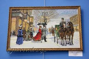 Л. А. Дурнова (Калуга), вышивка «Изящный век» в калуге
