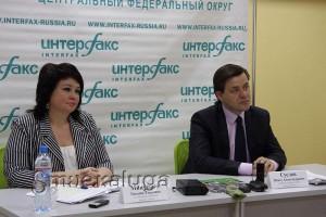Павел Суслов и Татьяна Минченко калуга