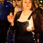 Акция «Свеча памяти» 70 летие победы в калуге