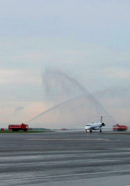 Начались регулярные рейсы из Международного аэропорта «Калуга»