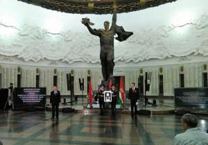 На церемонии присутствовал врио губернатора Калужской области Анатолий Артамонов калуга