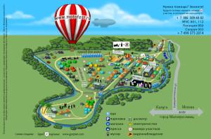 Карта фестиваля калуга