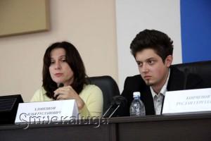 Инга Рейн и Илья Хлопенков калуга