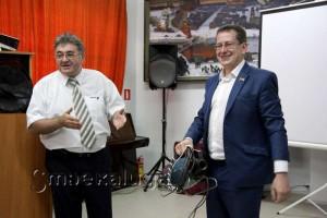 Павел Сузик и Сергей Тимофеев
