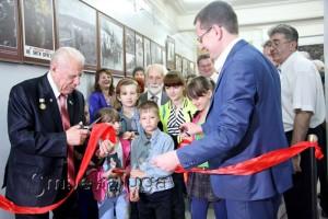 На открытии Зала советской эпохи город калуга