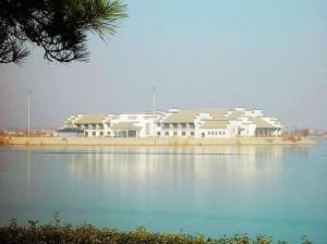 Озеро в Бинчьжоу калуга
