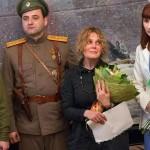 На открытии выставки козельск