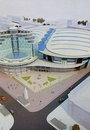 Старт строительству Дворца спорта могут дать в этом году