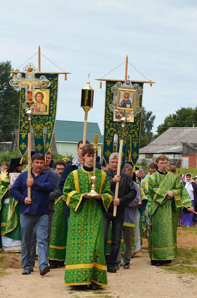 Память Ферапонта Боровенского в селе Боровенск почтили около 200 паломников из разных городов России