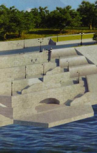Осенью калужанам представят проект набережной вдоль Оки