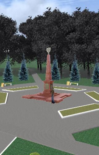В семи населённых пунктах откроются памятные стелы