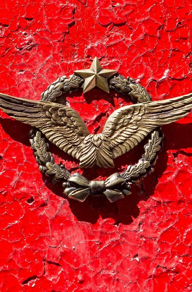 Близ аэродрома «Хатенки» установили памятный знак ВВС Франции