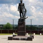 Памятник адмиралу Д. Н. Сенявину в Боровске калуга