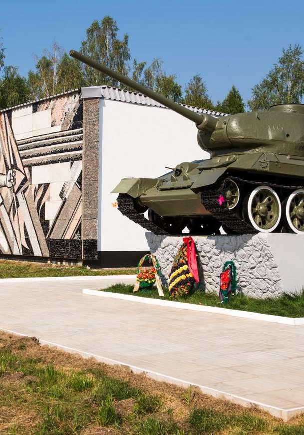 На территории Барятинского района откроется монумент, посвящённый погибшим советским воинам возле деревни Цветовка