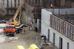 На строительной площадке калуга