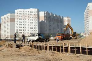 Строительство Губернского парка калуга