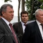 Посещение строительной площадки ИКЦ врио губернатора Калужской области Анатолием Артамоновым калуга